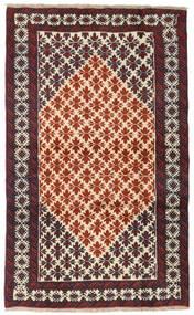 Beluch Teppe 101X165 Ekte Orientalsk Håndknyttet Mørk Brun/Mørk Rød (Ull, Persia/Iran)