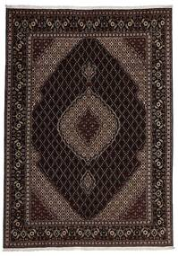 Tabriz 40 Raj Teppe 207X292 Ekte Orientalsk Håndknyttet (Ull/Silke, Persia/Iran)
