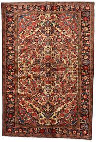 Lillian Teppe 148X218 Ekte Orientalsk Håndknyttet Mørk Brun/Mørk Rød (Ull, Persia/Iran)