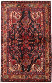 Nahavand Teppe 135X223 Ekte Orientalsk Håndknyttet Mørk Rød/Mørk Blå (Ull, Persia/Iran)