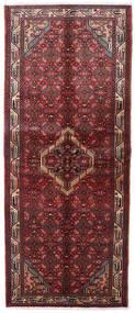 Asadabad Teppe 83X203 Ekte Orientalsk Håndknyttet Teppeløpere Mørk Rød (Ull, Persia/Iran)