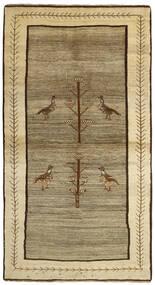 Ghashghai Teppe 117X216 Ekte Orientalsk Håndknyttet Lysgrønn/Lysbrun (Ull, Persia/Iran)