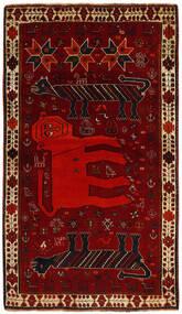 Ghashghai Teppe 113X195 Ekte Orientalsk Håndknyttet Mørk Rød/Mørk Brun (Ull, Persia/Iran)