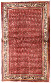 Mir Boteh Teppe 130X214 Ekte Orientalsk Håndknyttet Mørk Rød/Rust (Ull, Persia/Iran)
