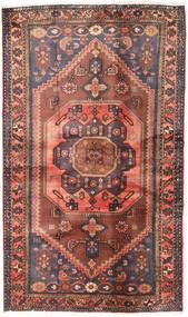 Hamadan Teppe 122X204 Ekte Orientalsk Håndknyttet Mørk Rød/Mørk Brun (Ull, Persia/Iran)