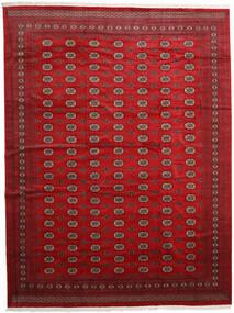 Pakistan Bokhara 2Ply Teppe 313X416 Ekte Orientalsk Håndknyttet Mørk Rød/Rød Stort (Ull, Pakistan)