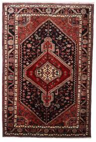 Hamadan Teppe 108X163 Ekte Orientalsk Håndknyttet Mørk Rød (Ull, Persia/Iran)