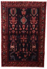 Asadabad Teppe 107X160 Ekte Orientalsk Håndknyttet Mørk Rød (Ull, Persia/Iran)