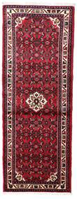 Hosseinabad Teppe 72X197 Ekte Orientalsk Håndknyttet Teppeløpere Mørk Rød/Rust (Ull, Persia/Iran)
