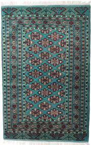 Turkaman Teppe 135X203 Ekte Orientalsk Håndknyttet Svart/Mørk Grå (Ull, Persia/Iran)