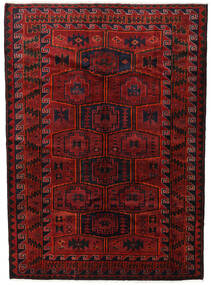 Lori Teppe 182X248 Ekte Orientalsk Håndknyttet Mørk Rød/Svart (Ull, Persia/Iran)