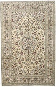 Keshan Teppe 198X307 Ekte Orientalsk Håndknyttet Lys Grå/Beige (Ull, Persia/Iran)