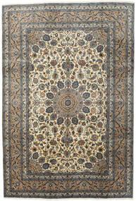 Kashmar Teppe 197X292 Ekte Orientalsk Håndknyttet Mørk Grå/Lys Grå (Ull, Persia/Iran)