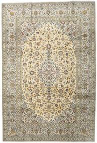 Keshan Teppe 201X299 Ekte Orientalsk Håndknyttet Mørk Beige/Lys Grå (Ull, Persia/Iran)