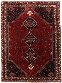 Ghashghai Teppe 220X302 Ekte Orientalsk Håndknyttet Mørk Rød/Mørk Brun (Ull, Persia/Iran)