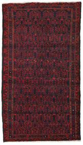 Hamadan Teppe 106X190 Ekte Orientalsk Håndknyttet Mørk Rød/Mørk Brun (Ull, Persia/Iran)