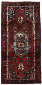 Hamadan Teppe 102X217 Ekte Orientalsk Håndknyttet Mørk Rød (Ull, Persia/Iran)