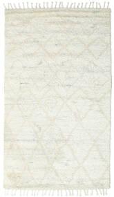 Barchi/Moroccan Berber - Indisk Teppe 160X230 Ekte Moderne Håndknyttet Beige/Hvit/Creme/Lys Grå (Ull, India)