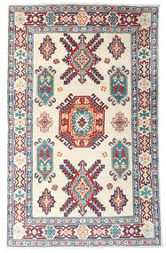 Kazak Teppe 99X157 Ekte Orientalsk Håndknyttet Beige/Lilla (Ull, Afghanistan)