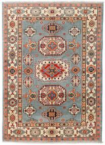Kazak Teppe 124X174 Ekte Orientalsk Håndknyttet Mørk Grå/Mørk Rød (Ull, Pakistan)