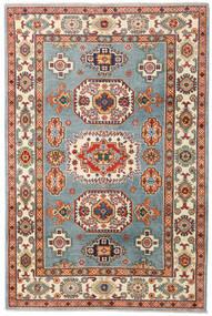 Kazak Teppe 122X185 Ekte Orientalsk Håndknyttet Brun/Beige (Ull, Afghanistan)