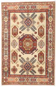 Kazak Teppe 119X186 Ekte Orientalsk Håndknyttet Beige/Lysbrun (Ull, Afghanistan)