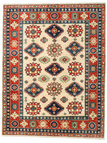 Kazak Teppe 158X203 Ekte Orientalsk Håndknyttet Rust/Mørk Blå (Ull, Afghanistan)