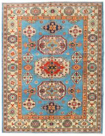 Kazak Teppe 151X196 Ekte Orientalsk Håndknyttet Mørk Beige/Mørk Brun (Ull, Afghanistan)