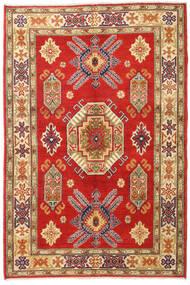 Kazak Teppe 120X180 Ekte Orientalsk Håndknyttet Rust/Mørk Beige (Ull, Afghanistan)