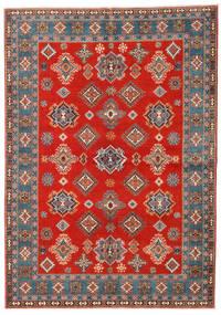 Kazak Teppe 169X238 Ekte Orientalsk Håndknyttet Rust/Lysbrun (Ull, Afghanistan)
