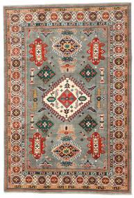 Kazak Teppe 201X295 Ekte Orientalsk Håndknyttet Mørk Grå/Beige (Ull, Afghanistan)