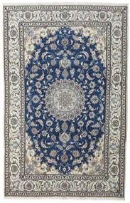 Nain Teppe 200X310 Ekte Orientalsk Håndknyttet Mørk Grå/Mørk Blå (Ull, Persia/Iran)
