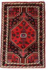 Sarough Teppe 67X81 Ekte Orientalsk Håndknyttet Mørk Brun/Mørk Rød (Ull, Persia/Iran)