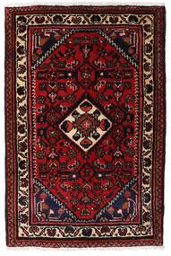 Turkaman Teppe 66X83 Ekte Orientalsk Håndknyttet Mørk Brun/Mørk Rød (Ull, Persia/Iran)