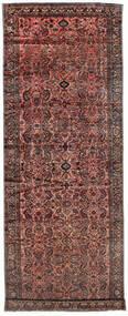 Lillian Teppe 220X590 Ekte Orientalsk Håndknyttet Teppeløpere Mørk Rød/Mørk Grå (Ull, Persia/Iran)