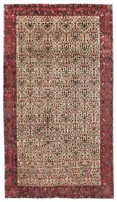 Afshar/Sirjan Teppe 218X375 Ekte Orientalsk Håndknyttet Teppeløpere Mørk Rød/Mørk Brun (Ull, Persia/Iran)