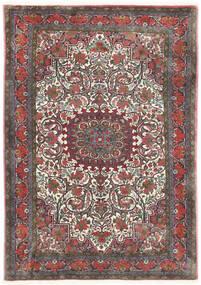 Bidjar Takab/Bukan Teppe 113X153 Ekte Orientalsk Håndknyttet Mørk Grå/Mørk Rød (Ull, Persia/Iran)