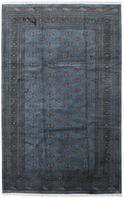 Pakistan Bokhara 3Ply Teppe 205X315 Ekte Orientalsk Håndknyttet Mørk Blå/Mørk Grå (Ull, Pakistan)