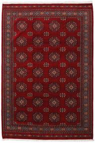 Pakistan Bokhara 3Ply Teppe 201X301 Ekte Orientalsk Håndknyttet Mørk Rød/Mørk Brun (Ull, Pakistan)