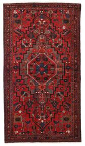 Hamadan Teppe 124X223 Ekte Orientalsk Håndknyttet Mørk Rød/Rust (Ull, Persia/Iran)