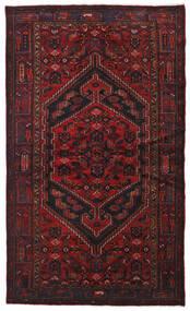 Hamadan Teppe 134X226 Ekte Orientalsk Håndknyttet Mørk Rød (Ull, Persia/Iran)