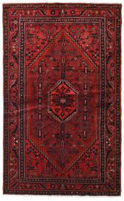 Hamadan Teppe 127X209 Ekte Orientalsk Håndknyttet Mørk Rød/Mørk Brun (Ull, Persia/Iran)