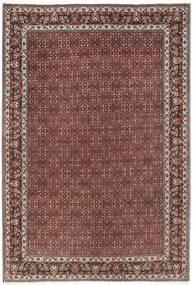 Bidjar Teppe 206X298 Ekte Orientalsk Håndknyttet Mørk Rød/Mørk Brun (Ull, Persia/Iran)