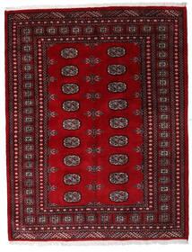Pakistan Bokhara 3Ply Teppe 146X188 Ekte Orientalsk Håndknyttet Mørk Rød/Mørk Brun (Ull, Pakistan)