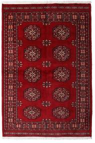 Pakistan Bokhara 3Ply Teppe 139X206 Ekte Orientalsk Håndknyttet Mørk Rød/Mørk Brun (Ull, Pakistan)