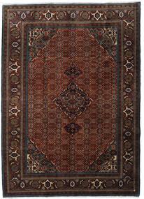 Ardebil Teppe 207X288 Ekte Orientalsk Håndknyttet Mørk Brun/Mørk Rød (Ull, Persia/Iran)