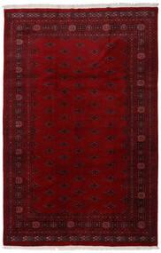 Pakistan Bokhara 3Ply Teppe 196X301 Ekte Orientalsk Håndknyttet Mørk Rød/Mørk Brun (Ull, Pakistan)