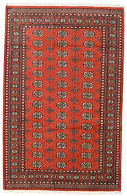 Pakistan Bokhara 2Ply Teppe 159X248 Ekte Orientalsk Håndknyttet Mørk Rød/Rust (Ull, Pakistan)