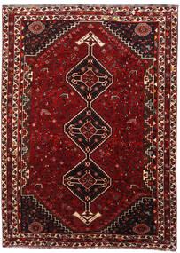 Ghashghai Teppe 218X298 Ekte Orientalsk Håndknyttet Mørk Rød (Ull, Persia/Iran)