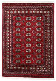 Pakistan Bokhara 2Ply Teppe 129X187 Ekte Orientalsk Håndknyttet Mørk Rød/Hvit/Creme (Ull, Pakistan)